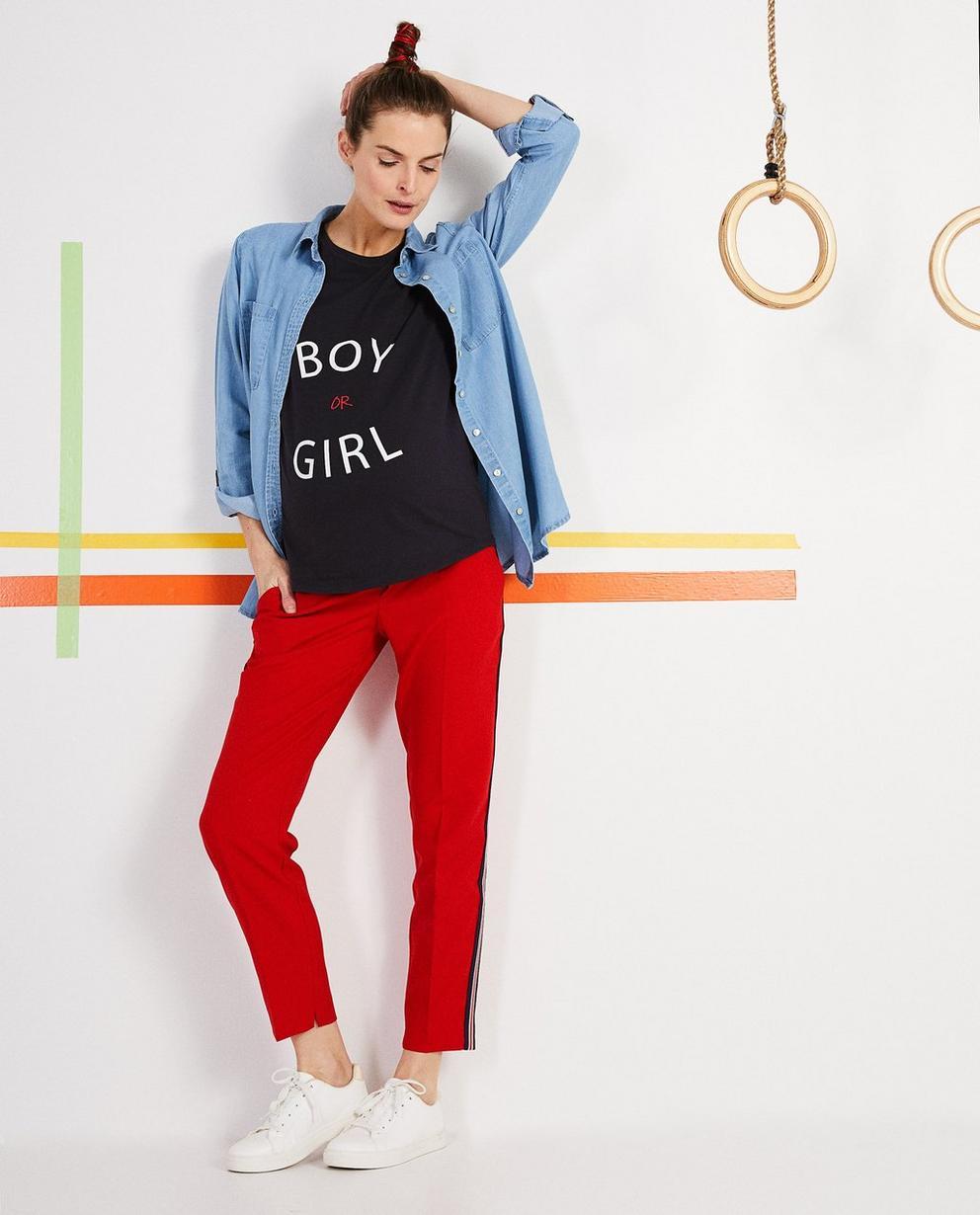 Jeanshemd aus Lyocell - mit verwaschenem Look - Joli Ronde